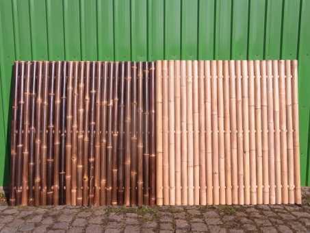 Bambuszaun Malaysia 90x180 cm Black (LxH)