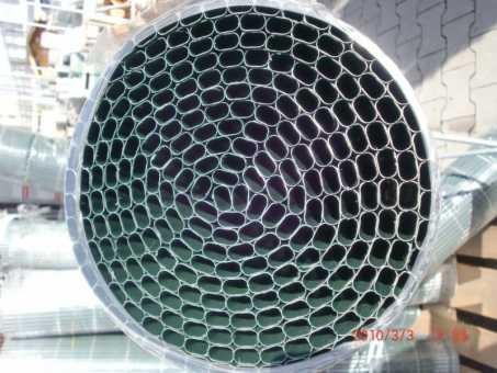 PVC-Rohr grün H100