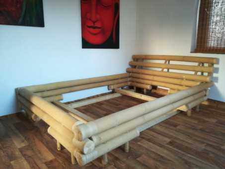 Bambusbett Palas