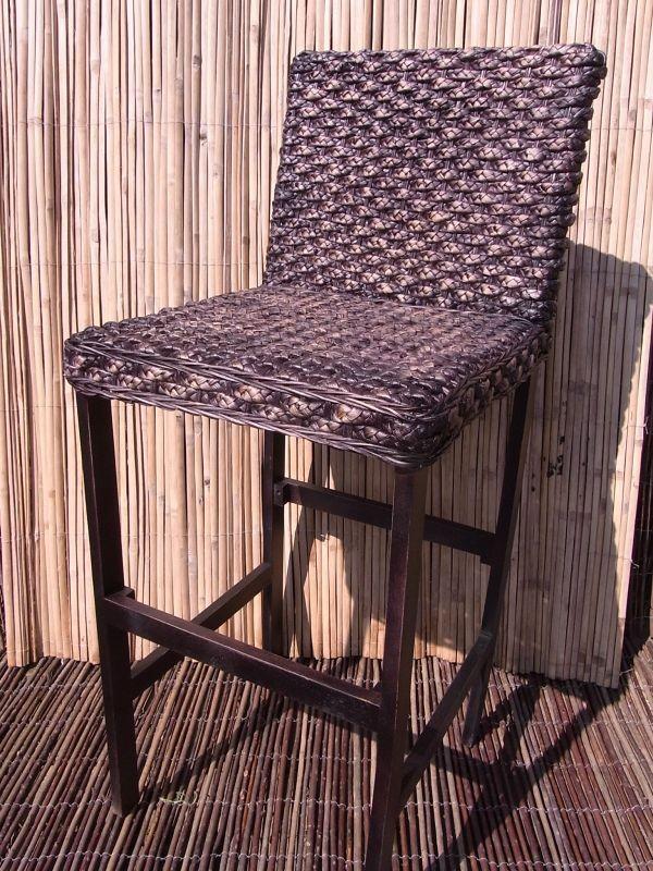 bambushandel leipzig barstuhl wasserhyazinthe m bel aus natur. Black Bedroom Furniture Sets. Home Design Ideas