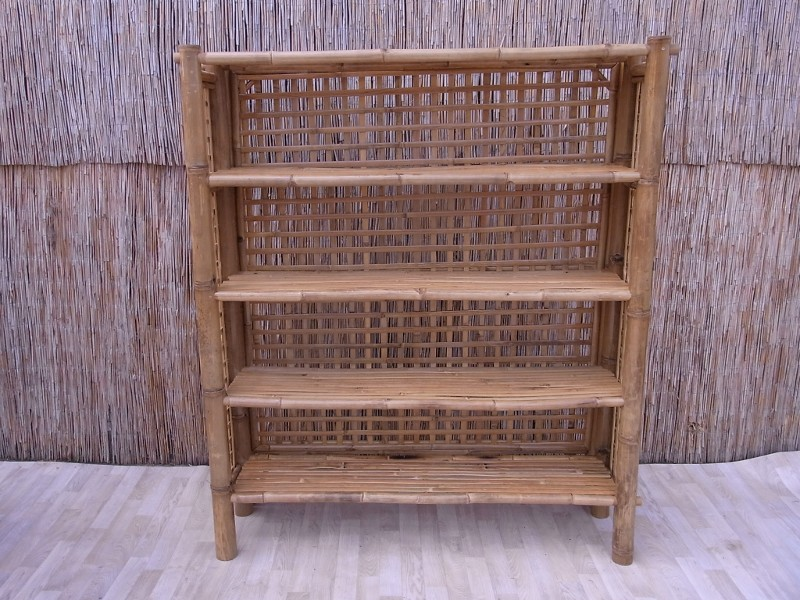 bambushandel leipzig bambus b cherregal mit r ckwand 180 cm m bel aus natur. Black Bedroom Furniture Sets. Home Design Ideas